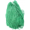 2-Cut Beads Opaque Green 10/0 Strung